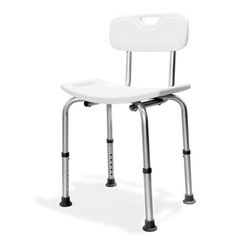 כסא רחצה עם משענת