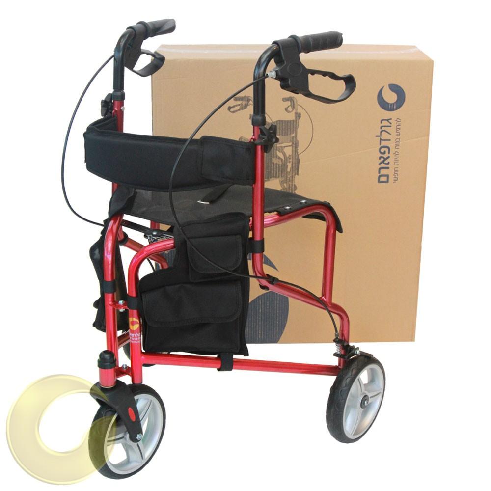רולטור 3 גלגלים למבוגרים