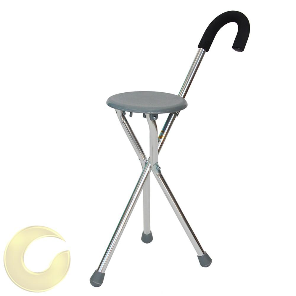 מקל כסא - מקל הליכה עם כסא גולדי