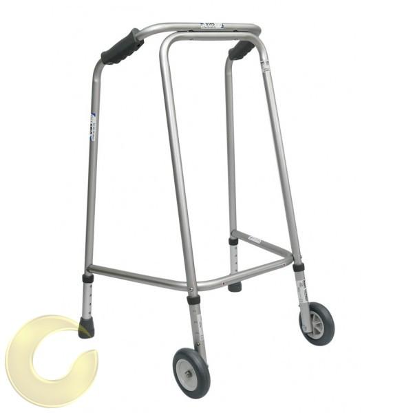 הליכון איכותי במיוחד למבוגרים קבוע עם גלגלים