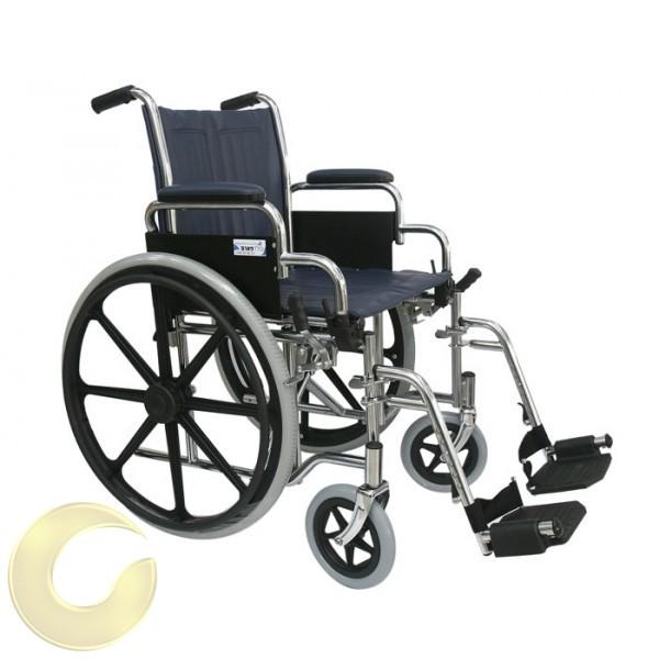 כסא גלגלים סיעודי בסיסי וחזק - 40