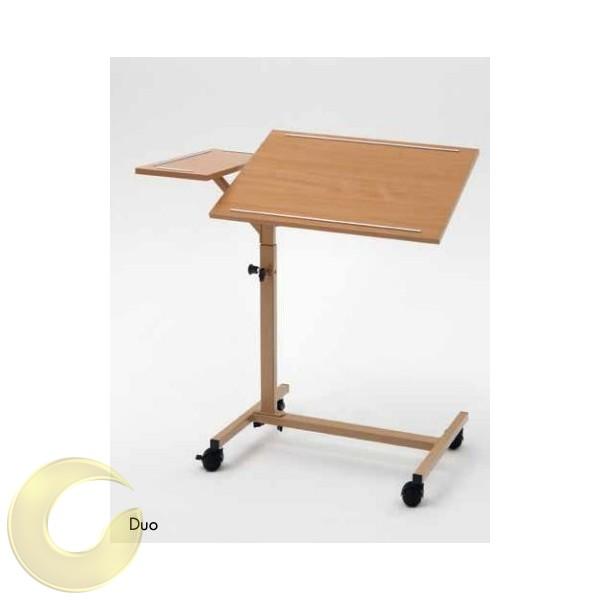 שולחן לכסא גלגלים - נייד ומתכוונן