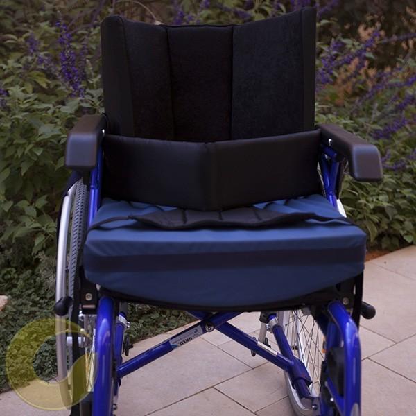 כרית ויסקו סהר לכסא גלגלים עם שיפוע