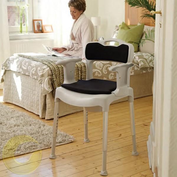 כסא רחצה ושירותים שבדי איכותי etac