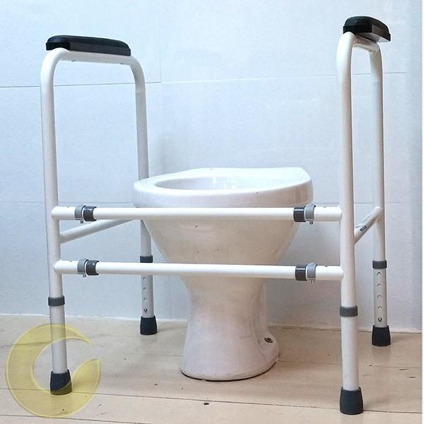 ידיות אחיזה לשירותים להנחה על הרצפה