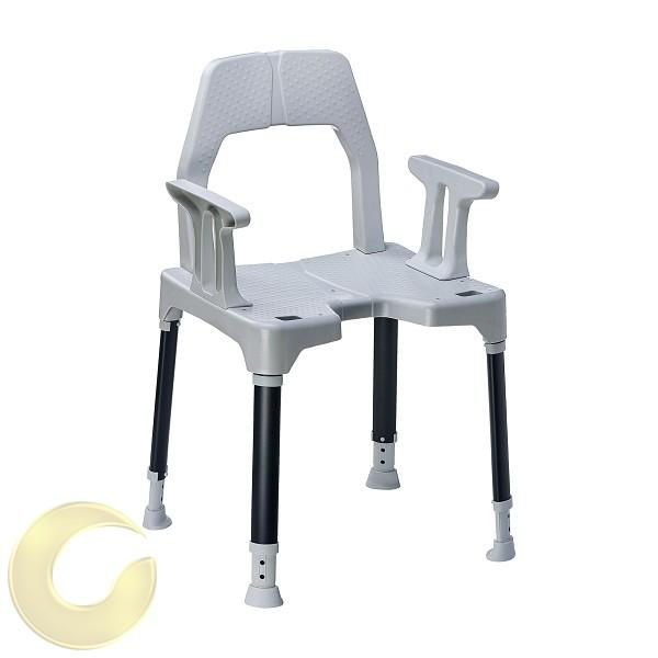 כסא רחצה למקלחת לגיל השלישי