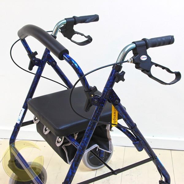 הליכון  4 גלגלים קל משקל