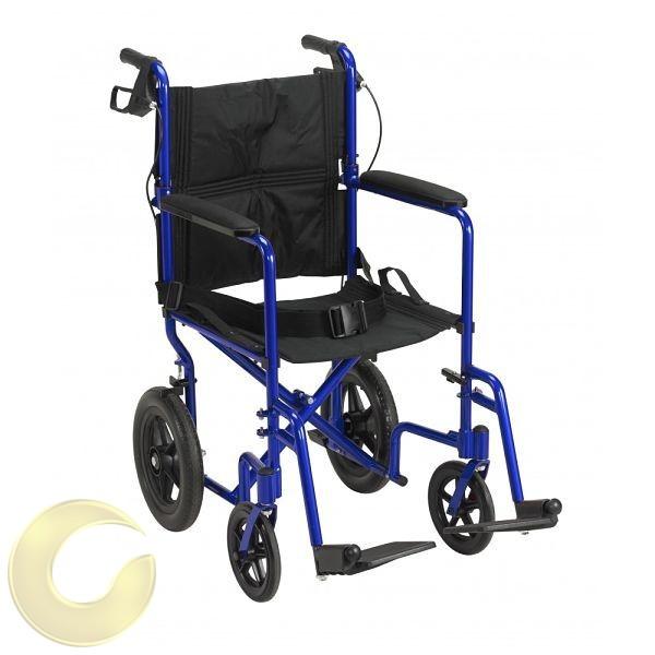 כסא גלגלים העברה מאלומיניום קל משקל