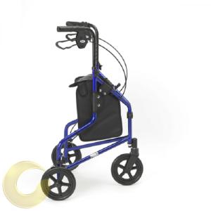 רולטור 3 גלגלים Lago כחול