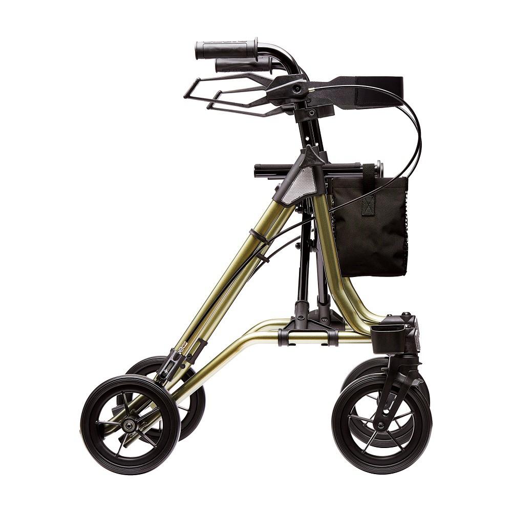 רולטור 4 גלגלים קל משקל . צהוב שחור